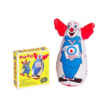 Mini Bozo The Clown Finger Bop Bag