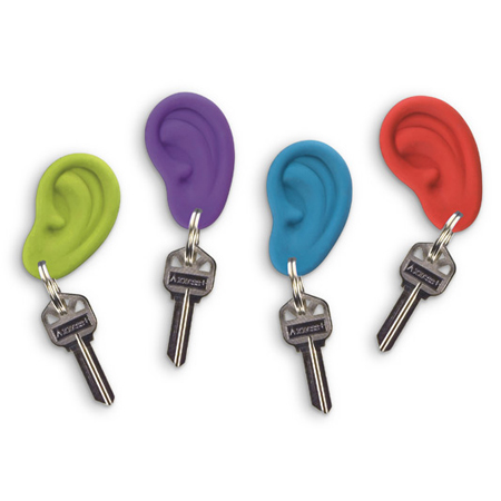 Ear Ring Keychain