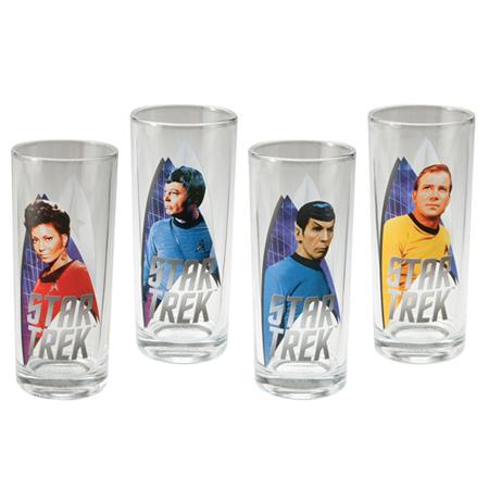 Star Trek 4-Piece Glass Set