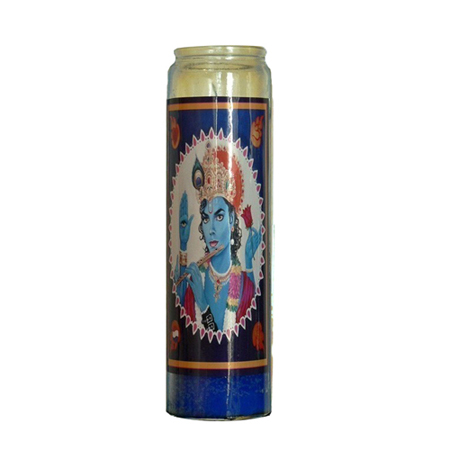 Michael Jackson Krishna Candle