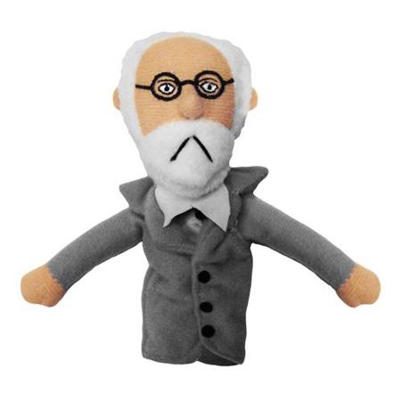 Sigmund Freud Finger Puppet & Fridge Magnet