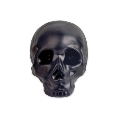 Ceramic Skull Coin Bank