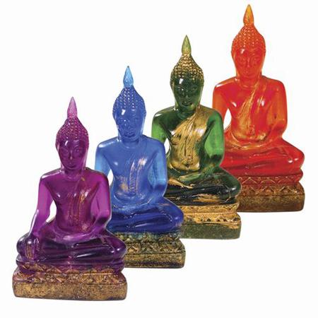 Sitting Buddha Witness Statue
