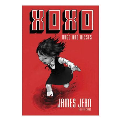 James Jean: Xoxo Hugs & Kisses Postcard Set