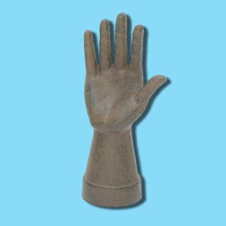 Oxidized Cast Iron Hand