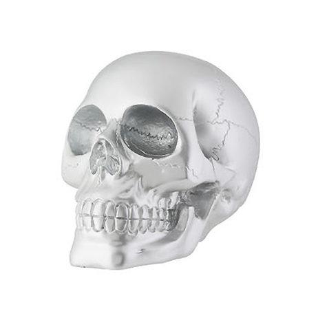 Silver Skull Large
