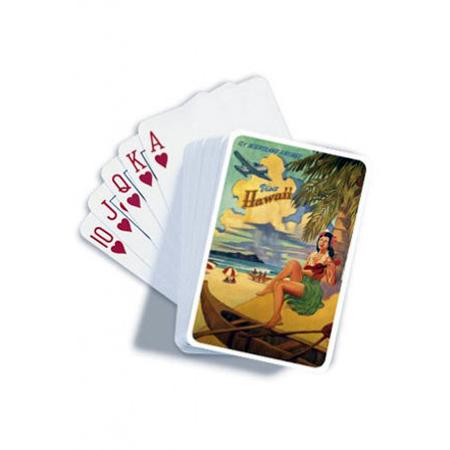 Visit Honolulu Playing Cards