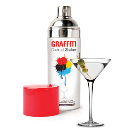 Spray Paint Can Cocktail Shaker
