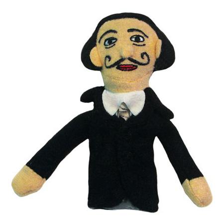Salvador Dali Finger Puppet & Fridge Magnet