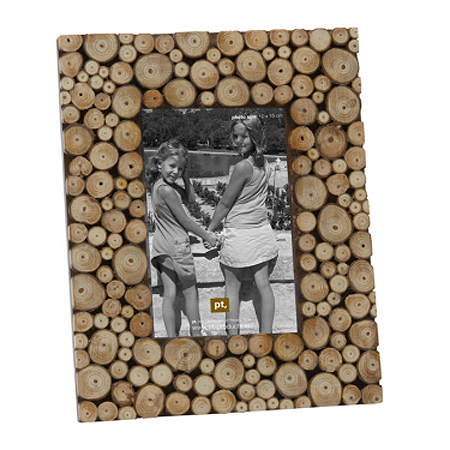 Chopped Wood Photo Frame 4 X 6