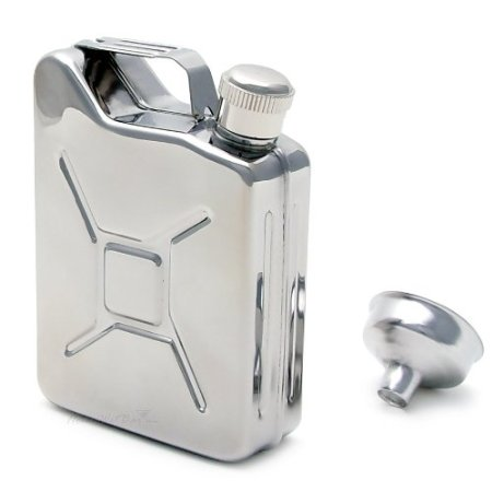 Gas Can Flask