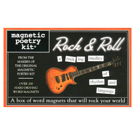 Rock & Roll Magnetic Poetry Kit