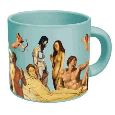 Great Nudes Mug: Add Hot Water & Clothing Disappears!