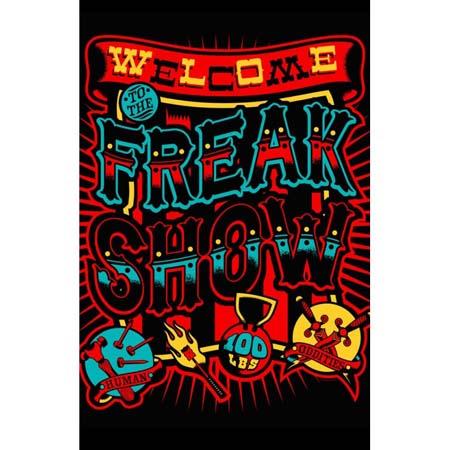Freakshow Shower Curtain
