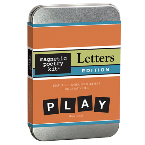 Magnetic Poetry Kit: Letters Edition