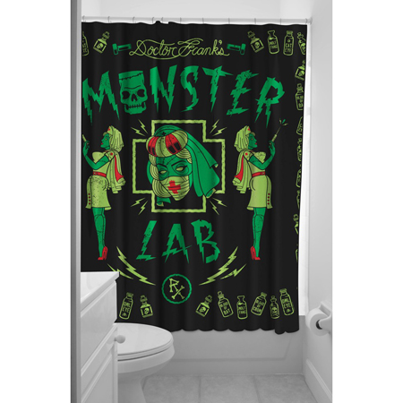 Monster Lab Shower Curtain