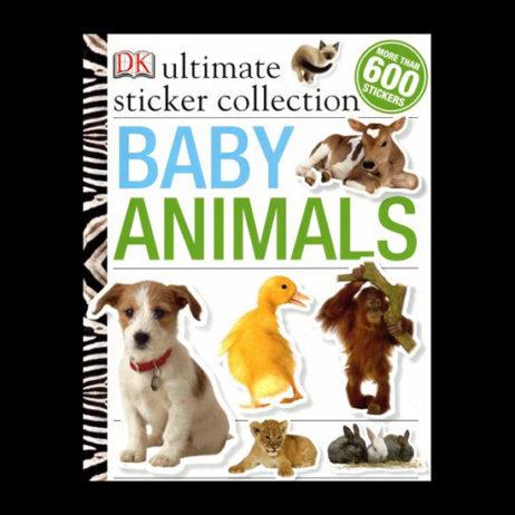 Baby Animals: Ultimate Sticker Book