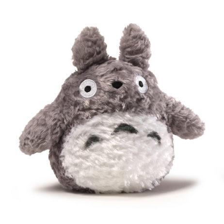 Fluffy Grey Totoro Plush