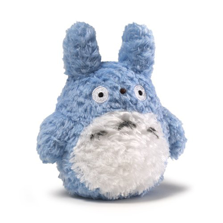 Fluffy Blue Totoro Plush