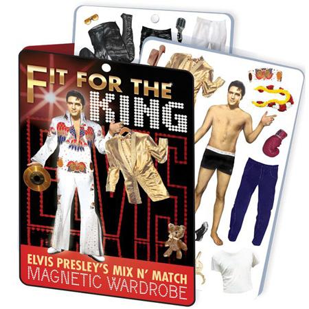 Elvis Dress Up Magnets