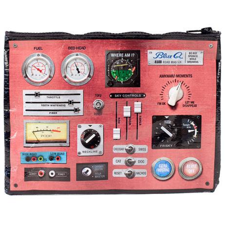 Control Panel Zipper Pouch