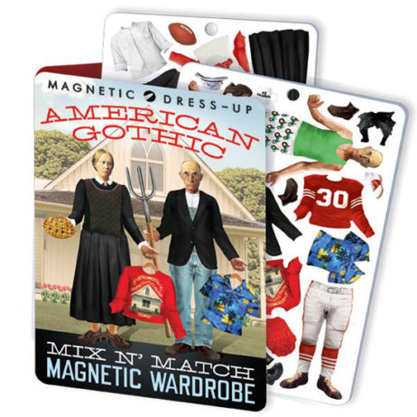 American Gothic Dress Up Magnets