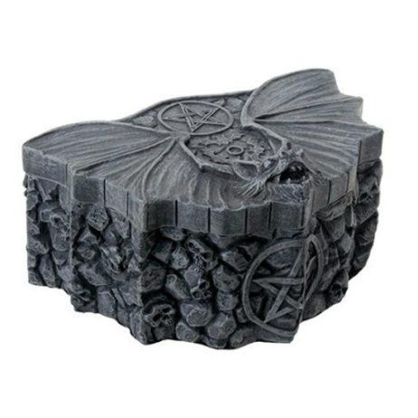 Bat Pentagram Box