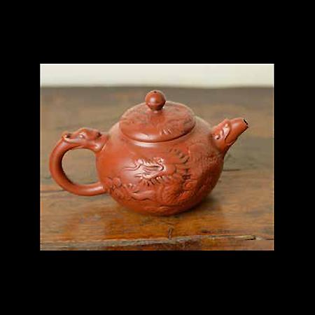 Dragon Clay Tea Pot