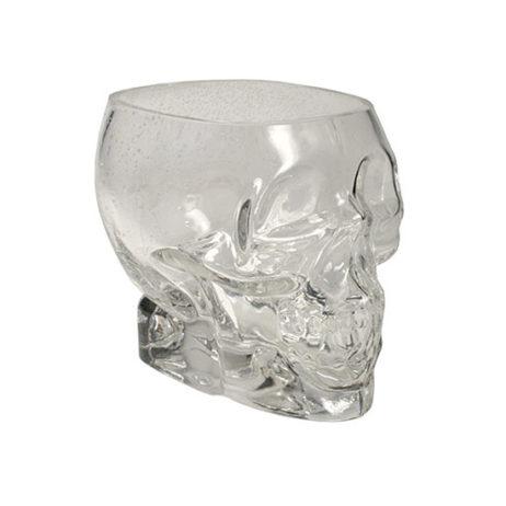 Glass Skull Vase - Medium
