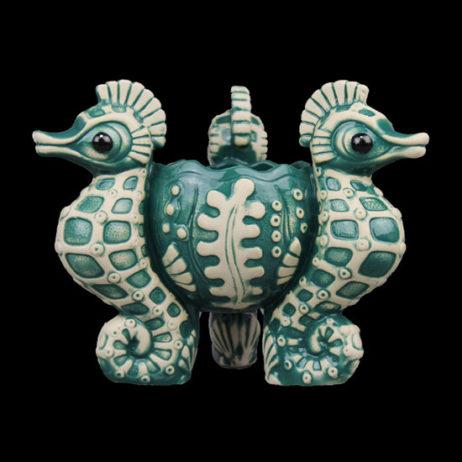 Seahorse Tiki Bowl