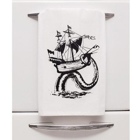 Ship Tea Towel