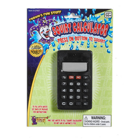 Squirt Calculator