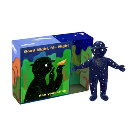 "Good Night Mr. Night Book & 6.5"" Soft Toy Gift Set"