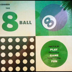 Mysterious Corner The 8-Ball Game (Vintage & Unknown Origin!)