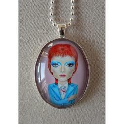 David Bowie Big Eye Pendant