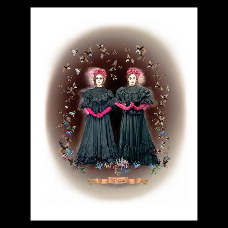 Poubelle Twins: Las Muertas Print