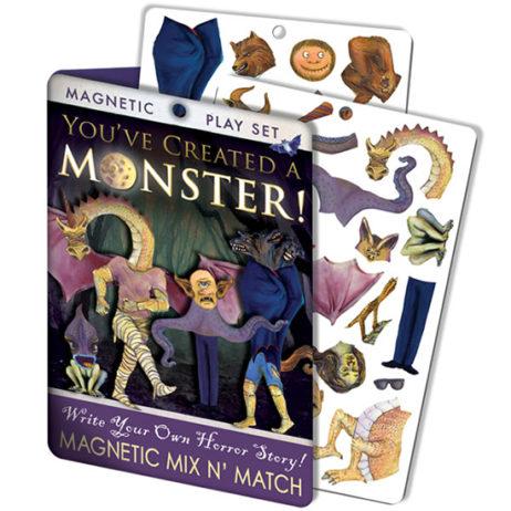 You'Ve Created A Monster Magnet Set