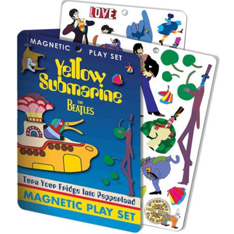 Beatles: Yellow Submarine Magnetic Playset