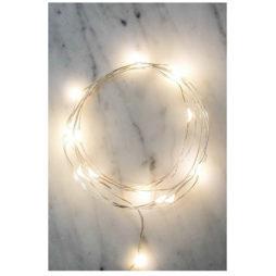 Silver Wire String Lights