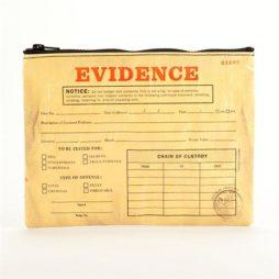Evidence Zipper Pouch