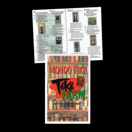 Tiki Fam 'Mondo Tiki!' 15Th Anniversary Book