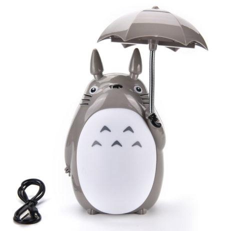 Totoro Lamp (Usb) W/Light-Up Umbrella