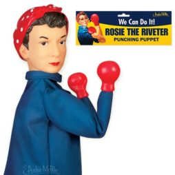 Rosie The Riveter Punching Puppe
