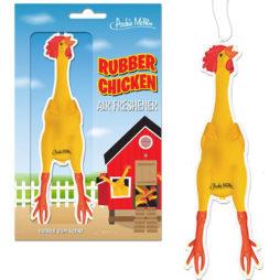 Rubber Chicken Air Freshener Bubble Gum Scent