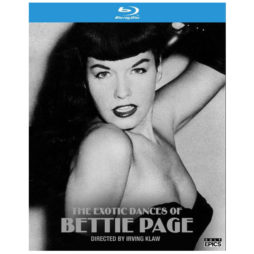 The Exotic Dances Of Bettie Page Blu-Ray Cover