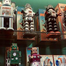 Robots + Wind-Ups