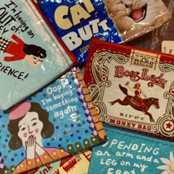 Wallets, Coin Purses + Cosmetic Bags